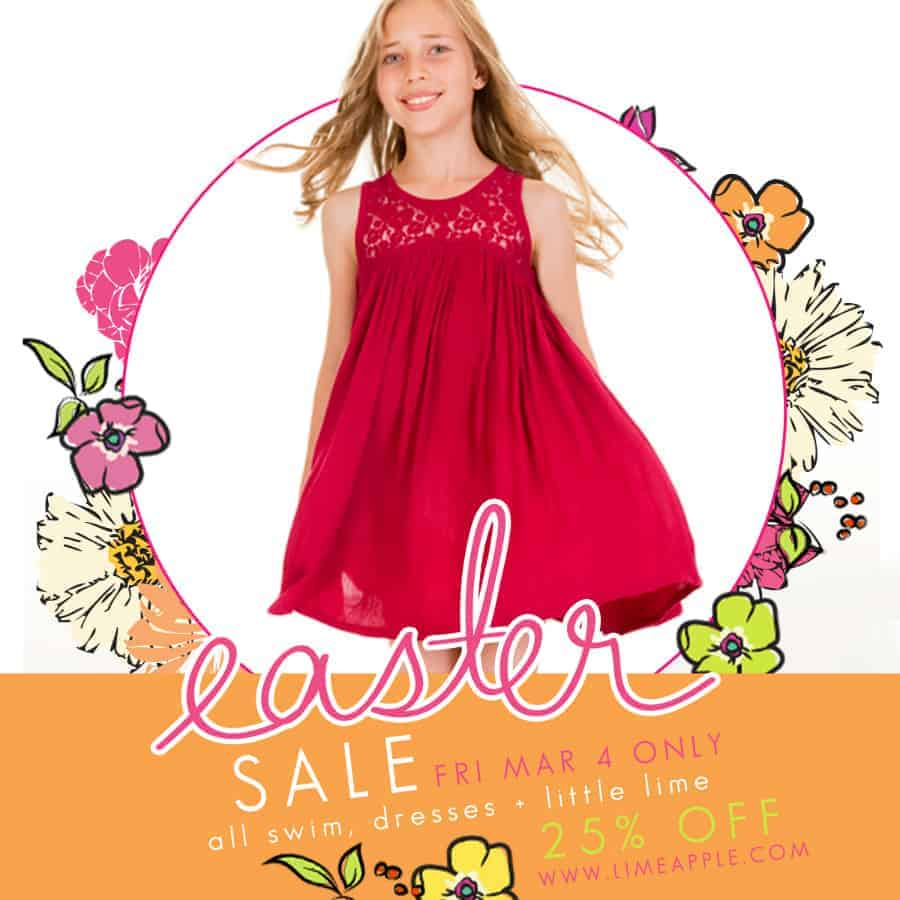 limeapple march easter sale 2016
