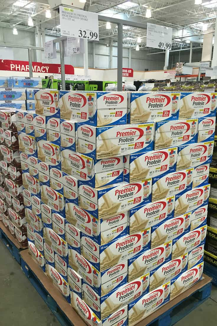 premier protein shakes at costco canada