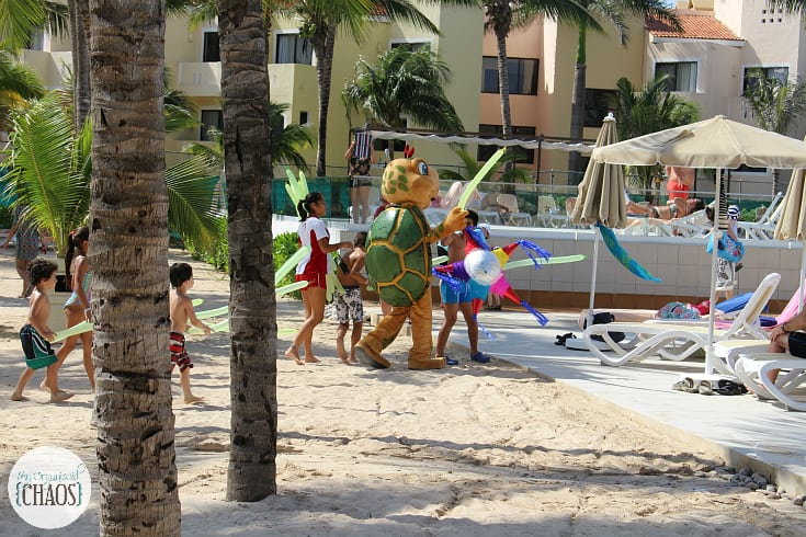 riu playacar kids club activities