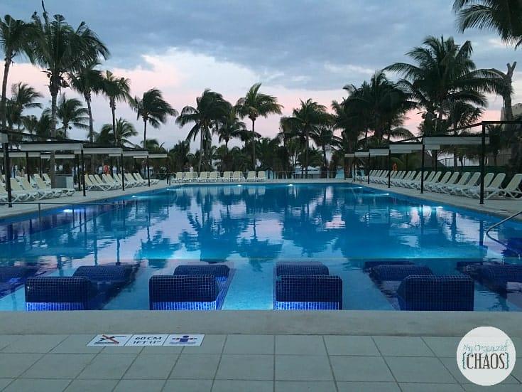 riu playacar pool review mexico