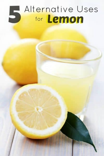5 Alternative Uses for Lemon