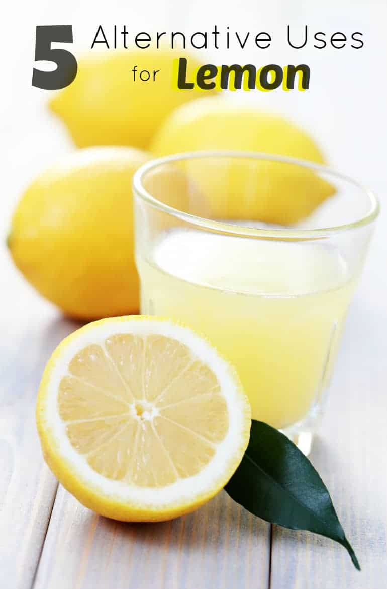 5 Alternate Uses for Lemon