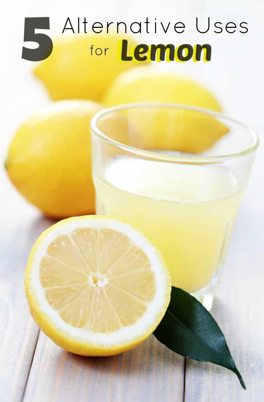 5 Alternate Uses for Lemon