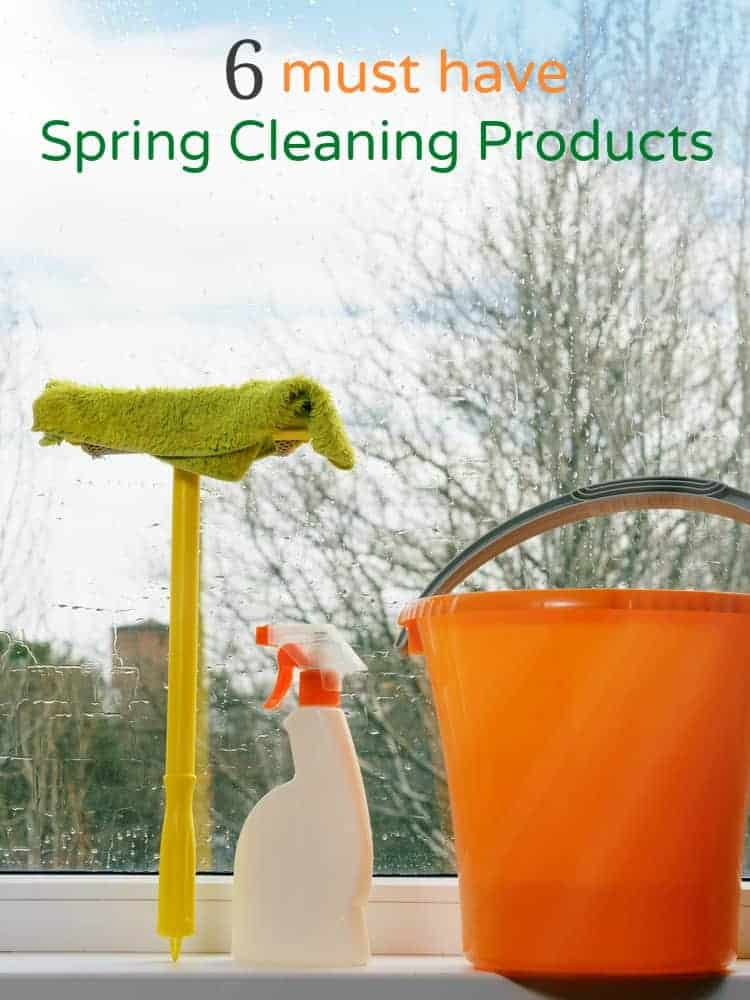 6 must have spring cleaning products