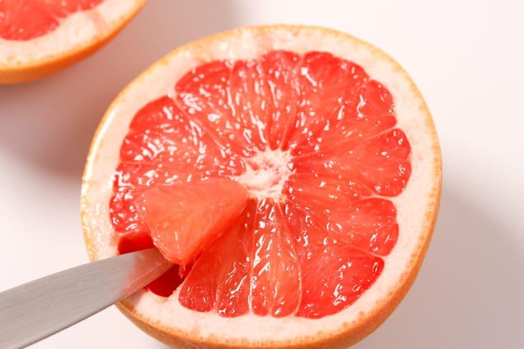 Grapefruit crumble prep