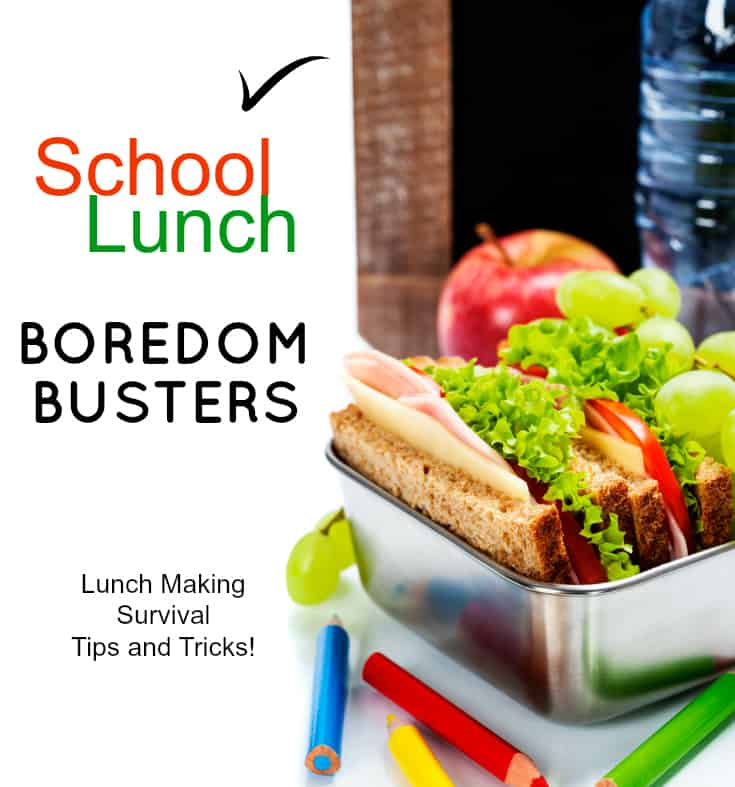 school lunch boredom busters