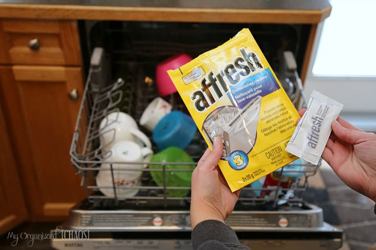 affresh dishwasher cleaner spring cleaning