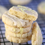 easy glazed lemon cookies recipe