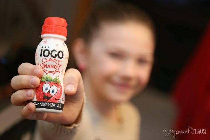 iogo drinkable yogurts school lunches