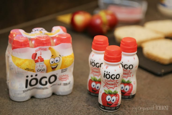 iogo nano drinkable yogurts