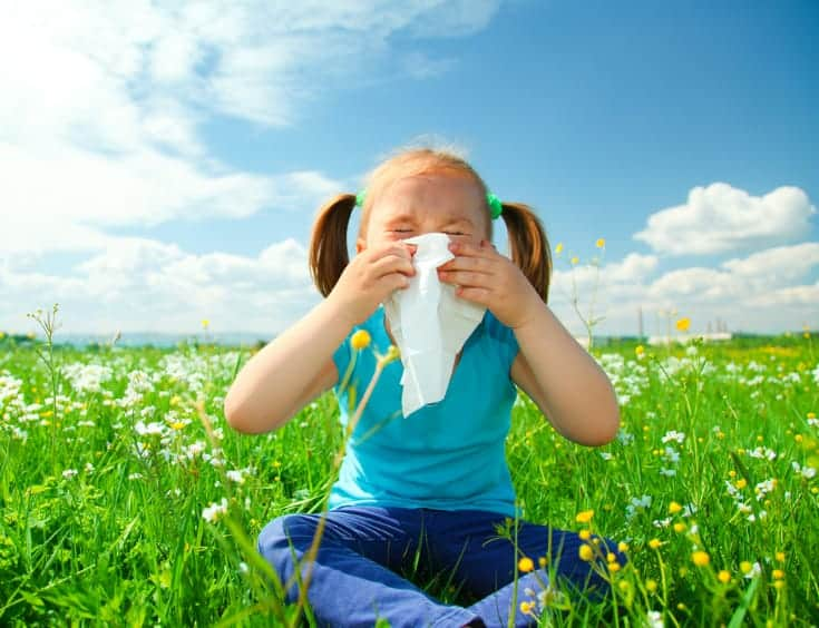 Spring Allergies in Kids