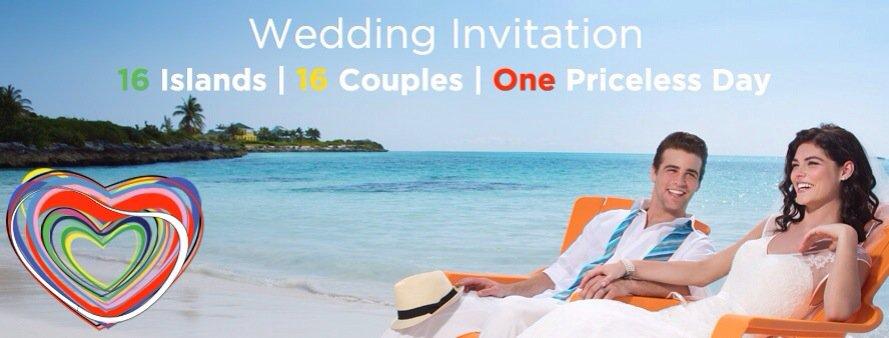 the islands of the bahamas 16 weddings contest canada