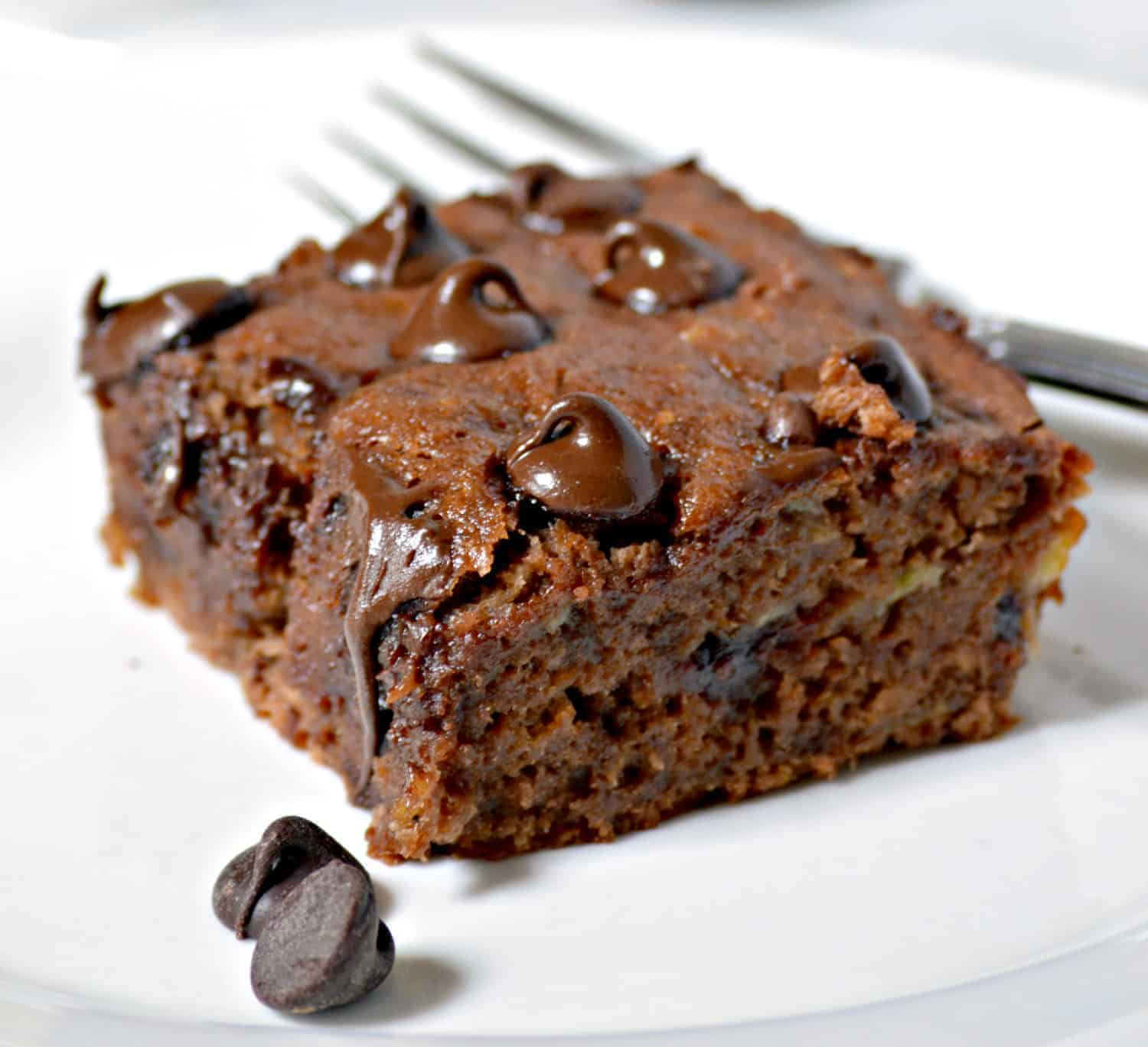 Moist Chocolate Banana Cake