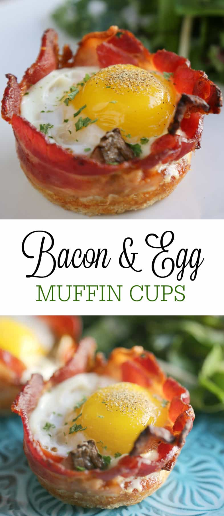 bacon and egg muffin cups recipe