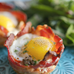Bacon & Egg Muffin Cups