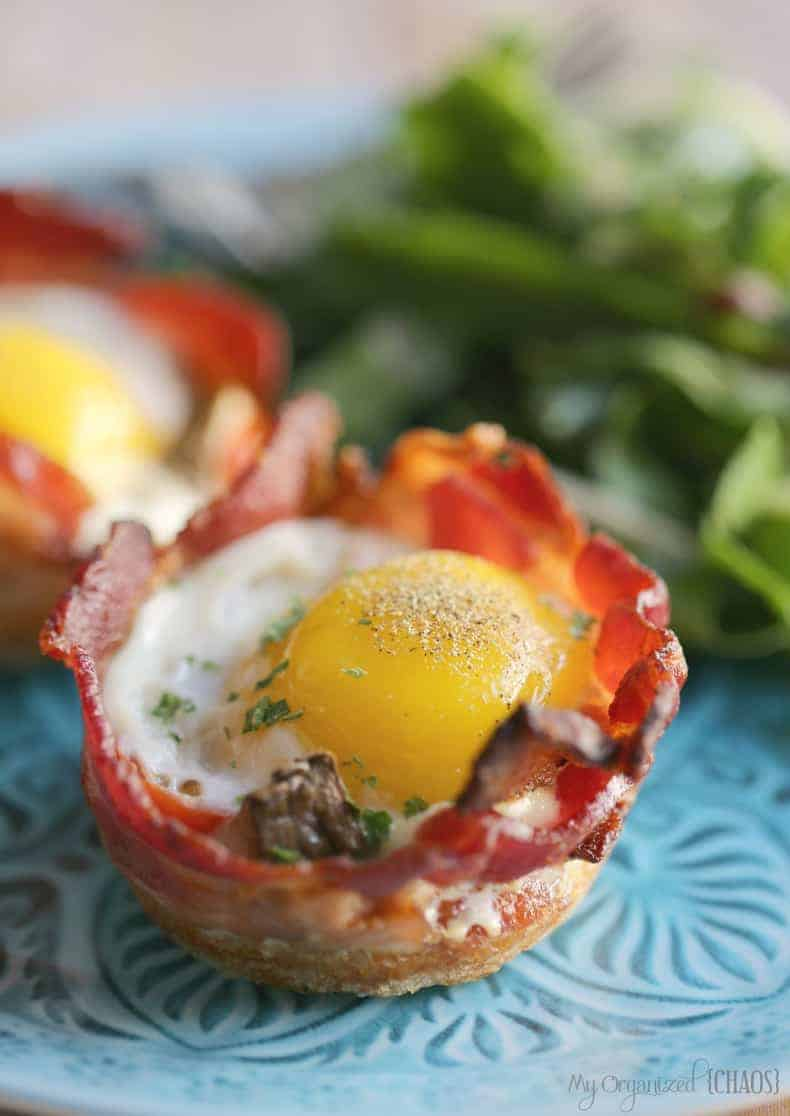 Bacon Amp Egg Muffin Cups