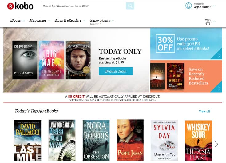kobo bookstore glo hd titles mothers day