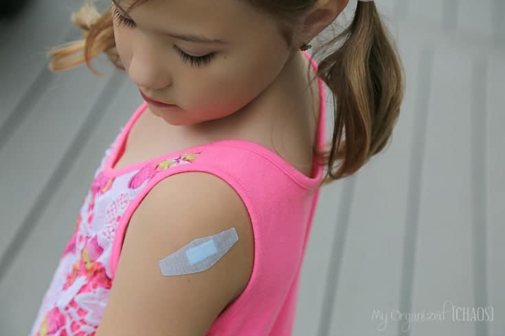 nexcare sensitive skin bandages kids