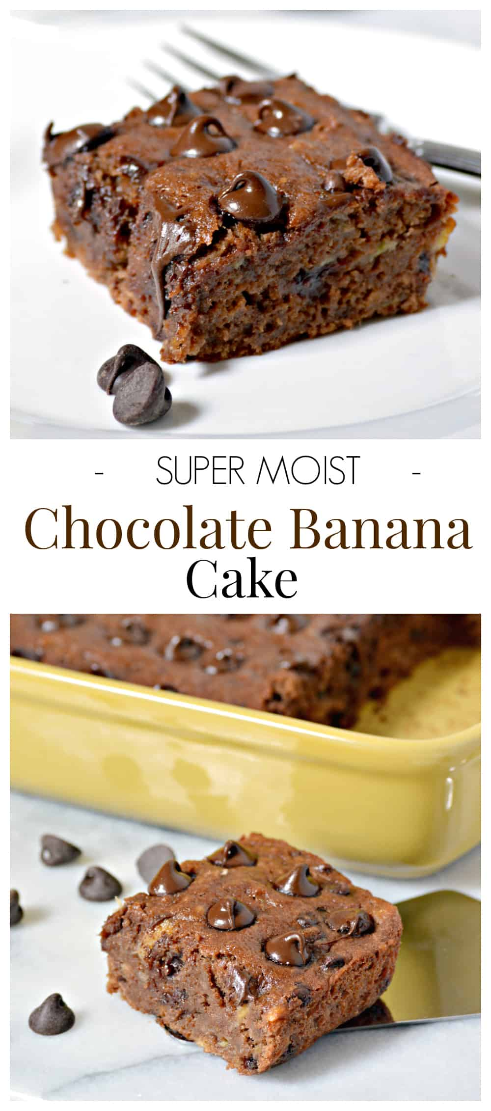 super moist chocolate banana cake recipe