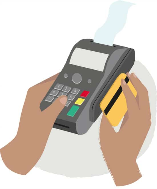 CIBC - debit card and payment terminal