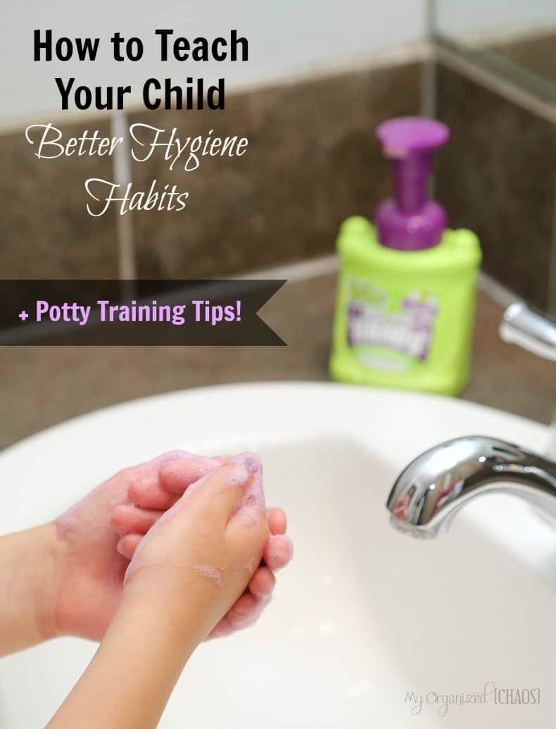 how to teach your child better hygiene habits potty training tips