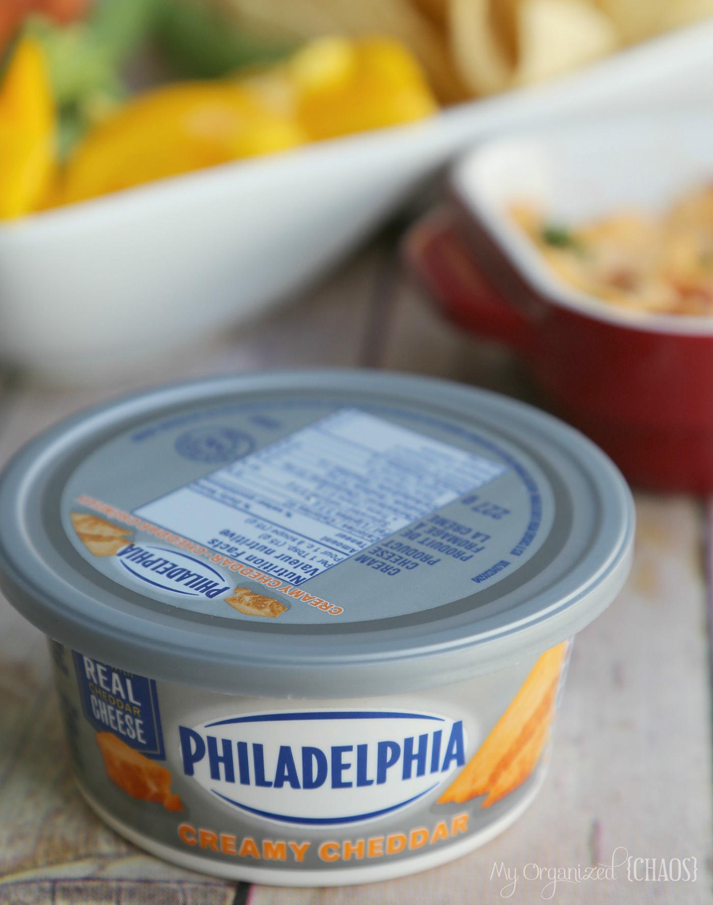 philadelphia creamy cheddar recipe