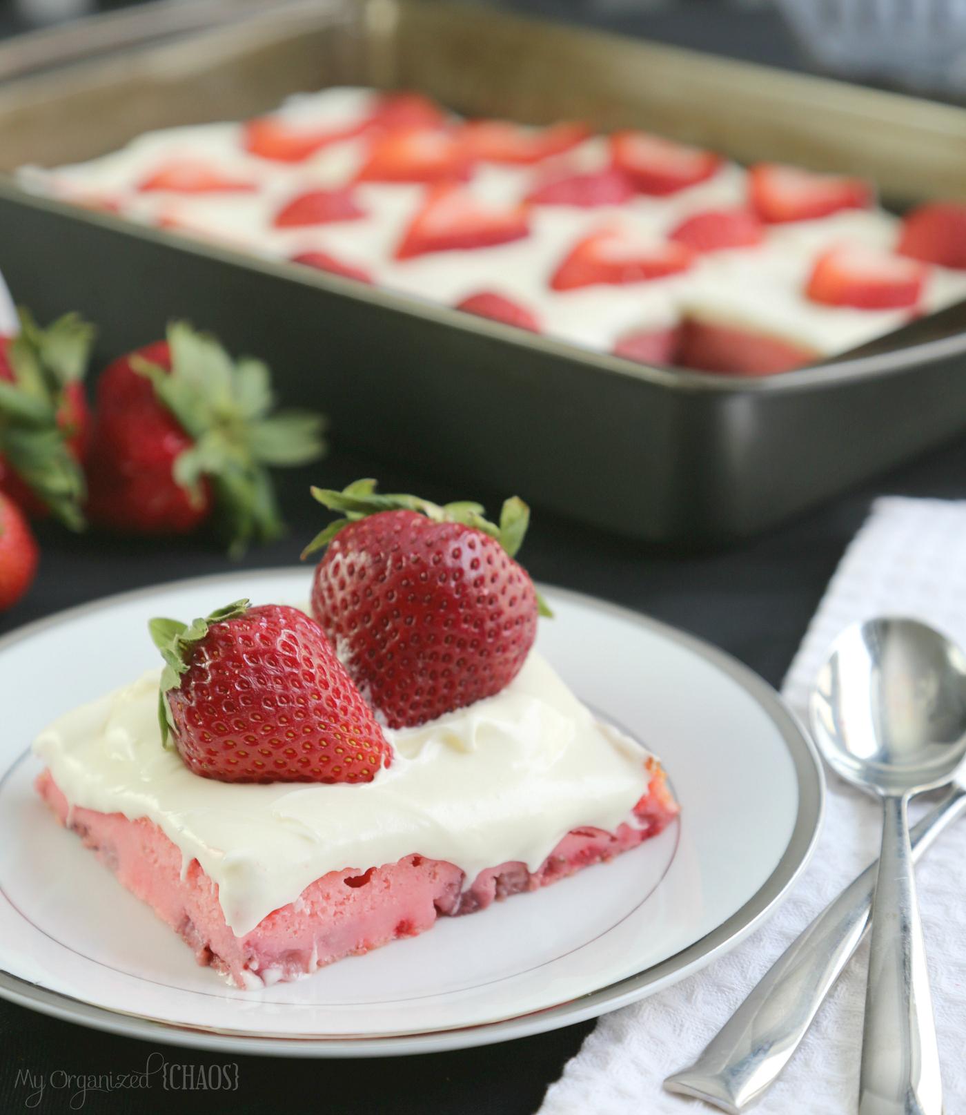 strawberries and cream cake eggsforlife