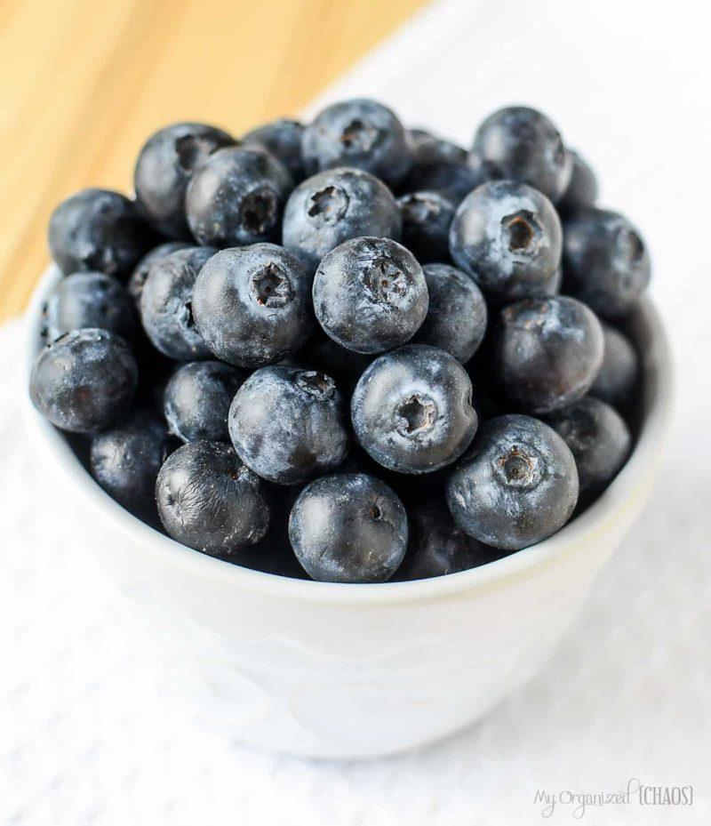 BC Blueberry dessert recipe