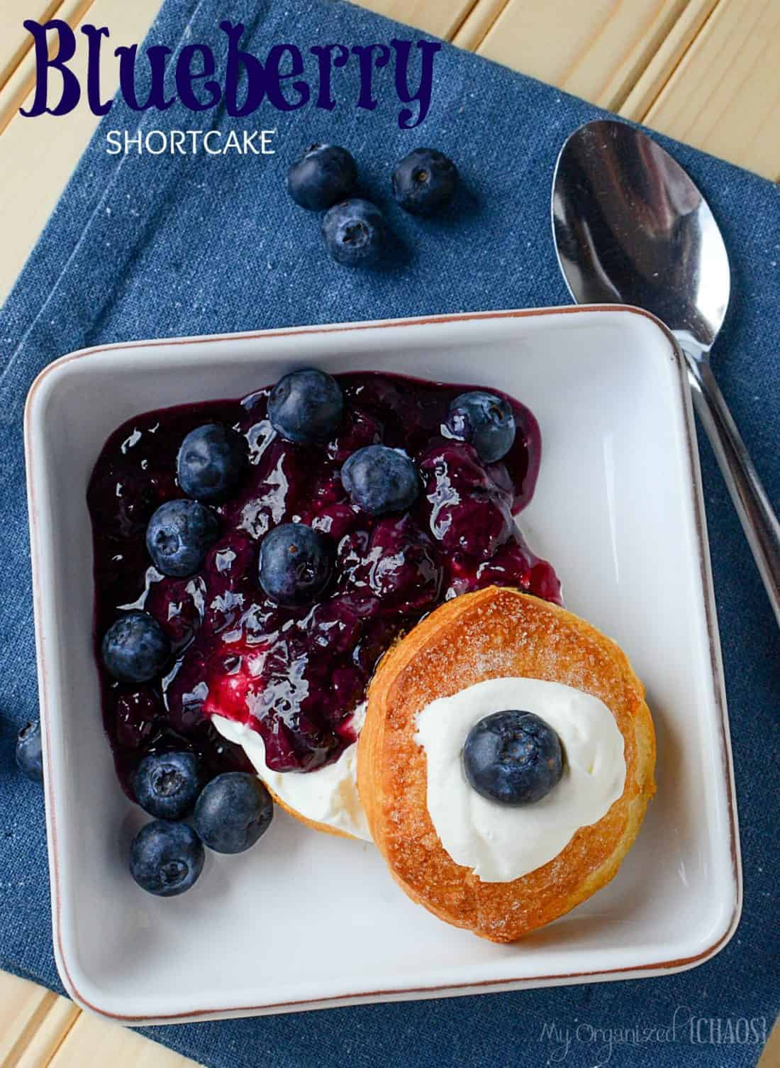 Blueberry Shortcake recipe, which is easy and oh so delicious. Long ...