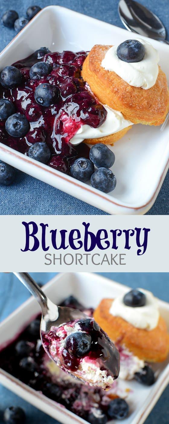 Blueberry Shortcake recipe