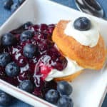 Fresh Blueberry Shortcake