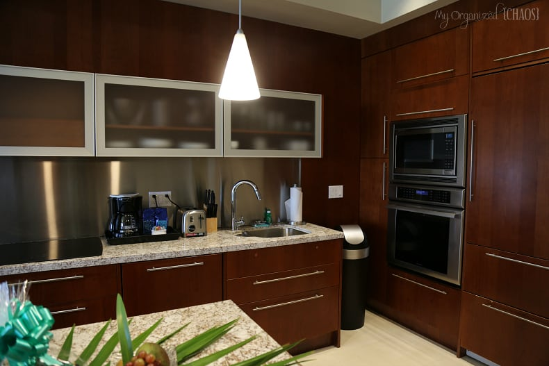 blue haven resort suite kitchen review