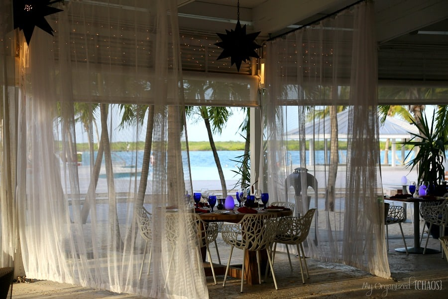 blue haven resort turks and caicos dining