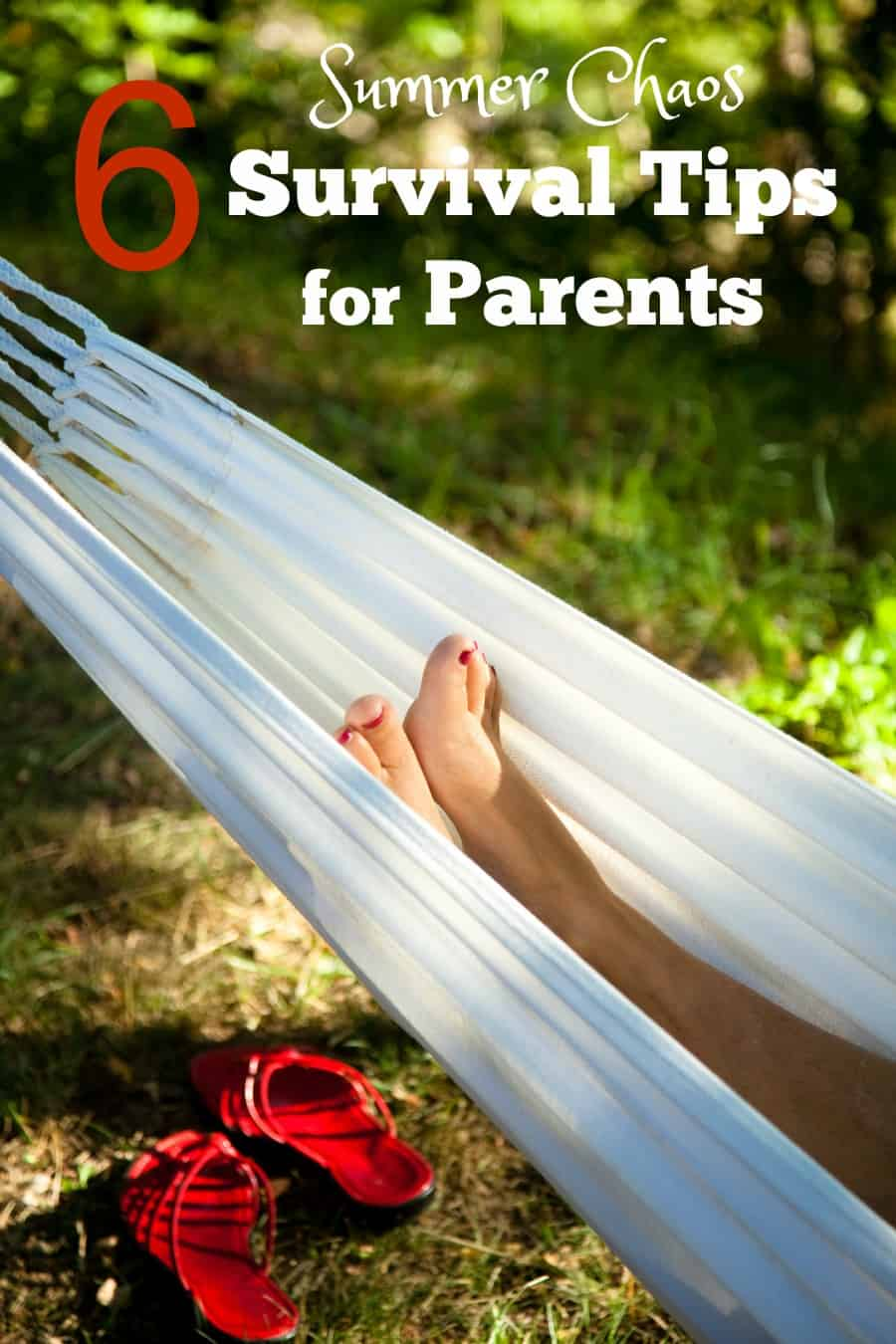 6 Summer Chaos Survival Tips for Parents