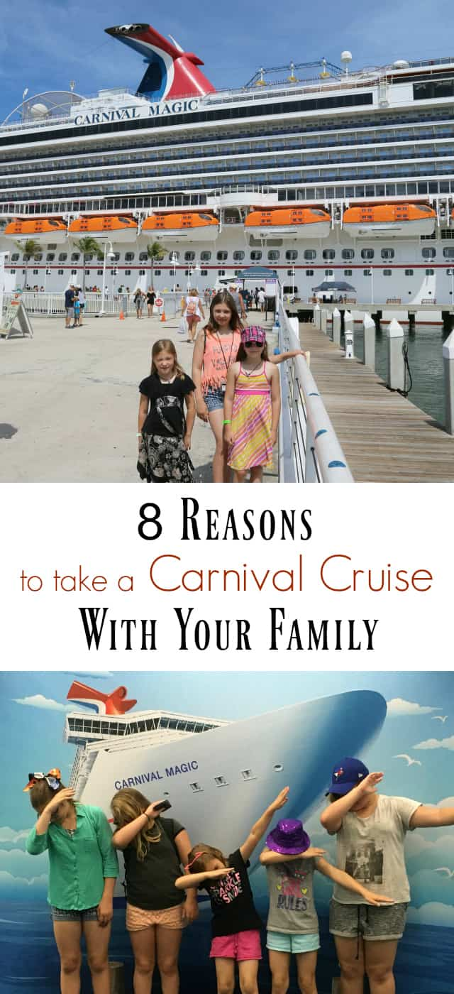 8 Reasons to Take a Carnival Cruise with Your Family
