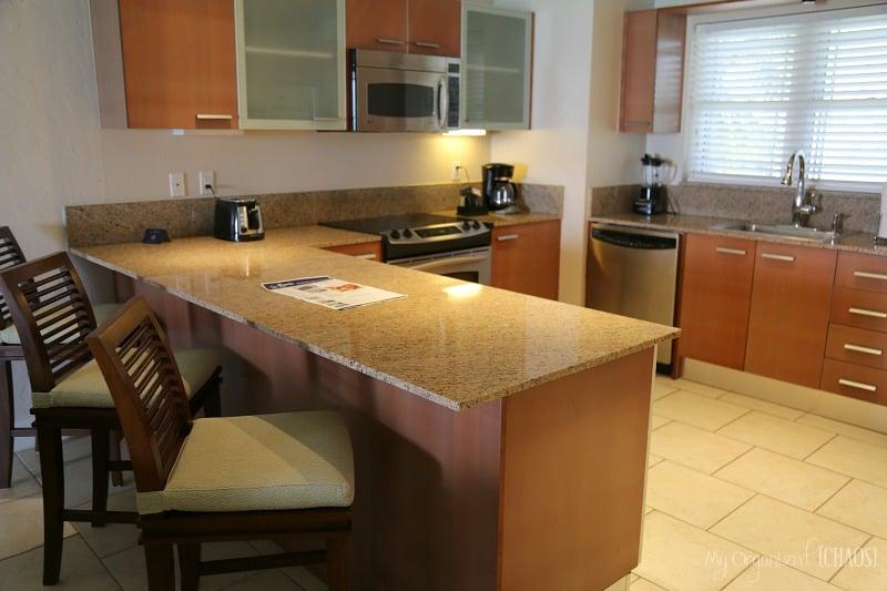 Alexandra resort three bedroom kitchen