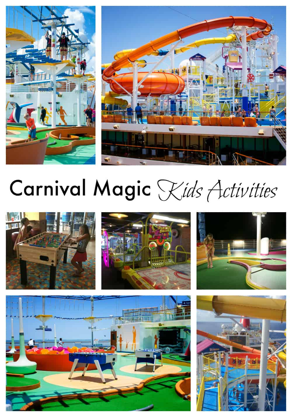 Carnival Magic Kids Activities