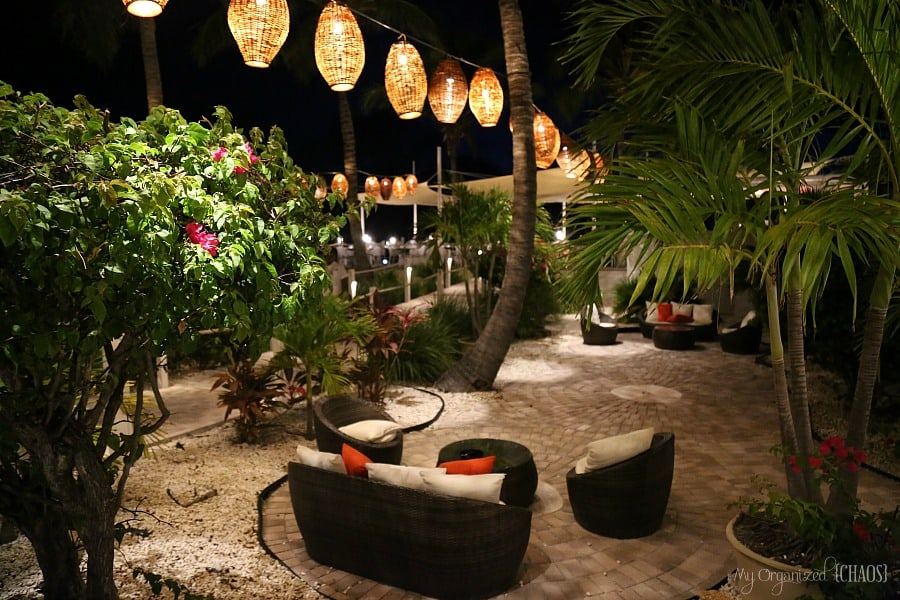 alexandra resort turks and caicos at night