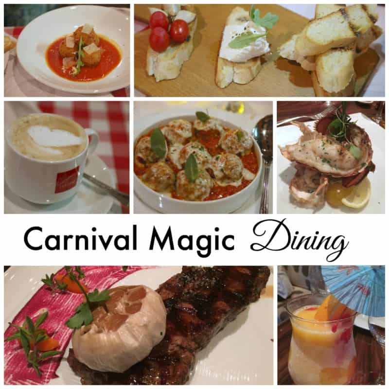 carnival Magic Dining