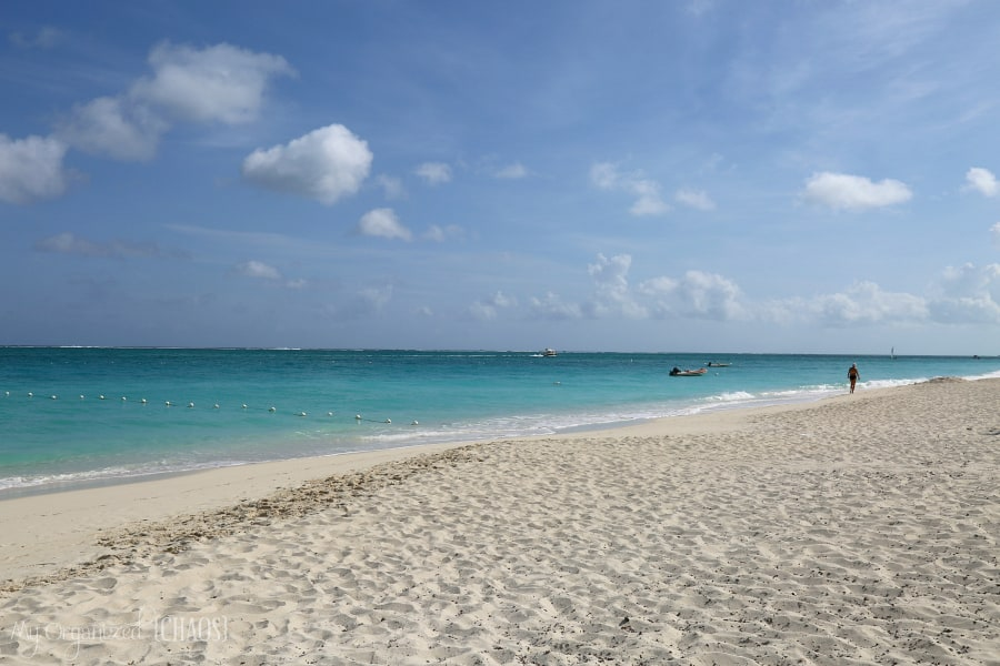 grace bay beach turks and caicos travel blogger review