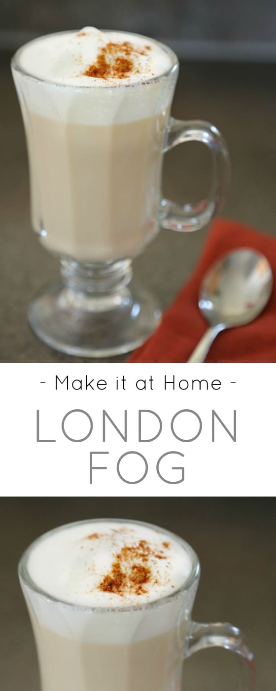 make it at home london fog drink recipe