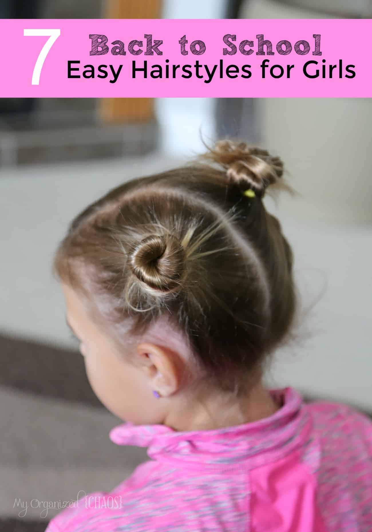7 Back to School Easy Hairstyles for Girls
