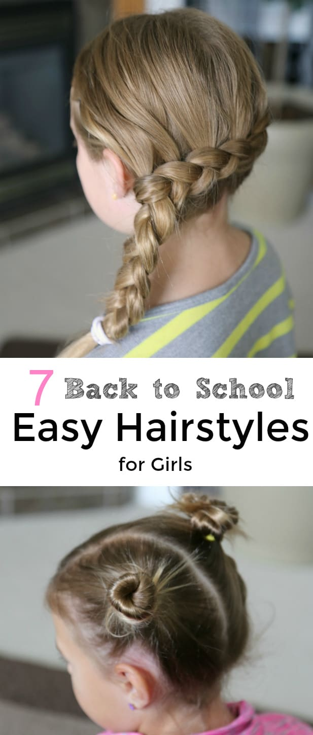 Back to School Easy Hairstyles for Girls Video