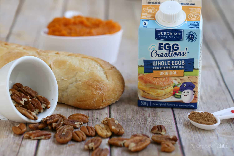 Pumpkin Pie French Toast Bake Recipe — Dishmaps