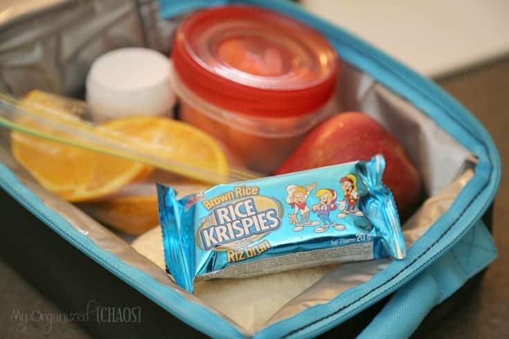 Rice Krispies Squares Brown Rice Bars school lunch