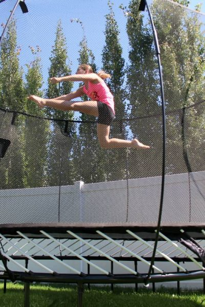 Take Gaming Outside and Make it Active with Springfree Trampoline tgoma