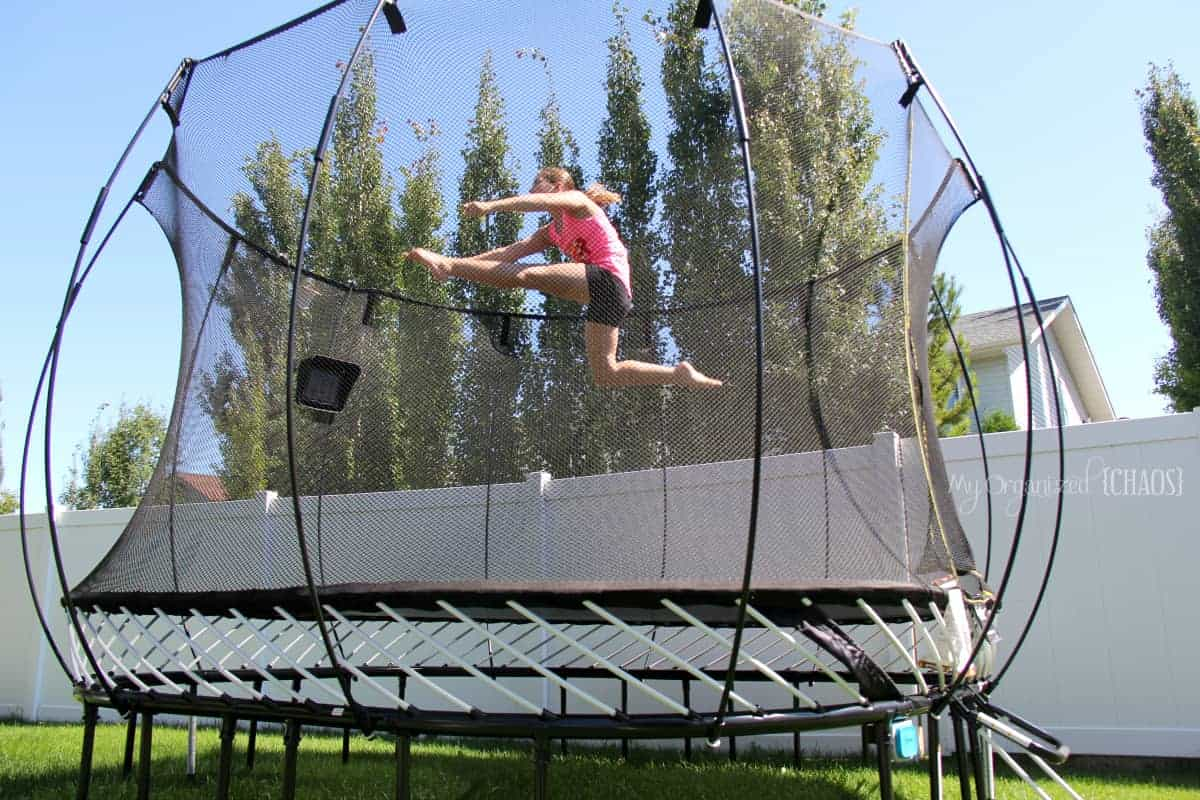 Take Gaming Outside and Make it Active Springfree Trampoline tgoma review