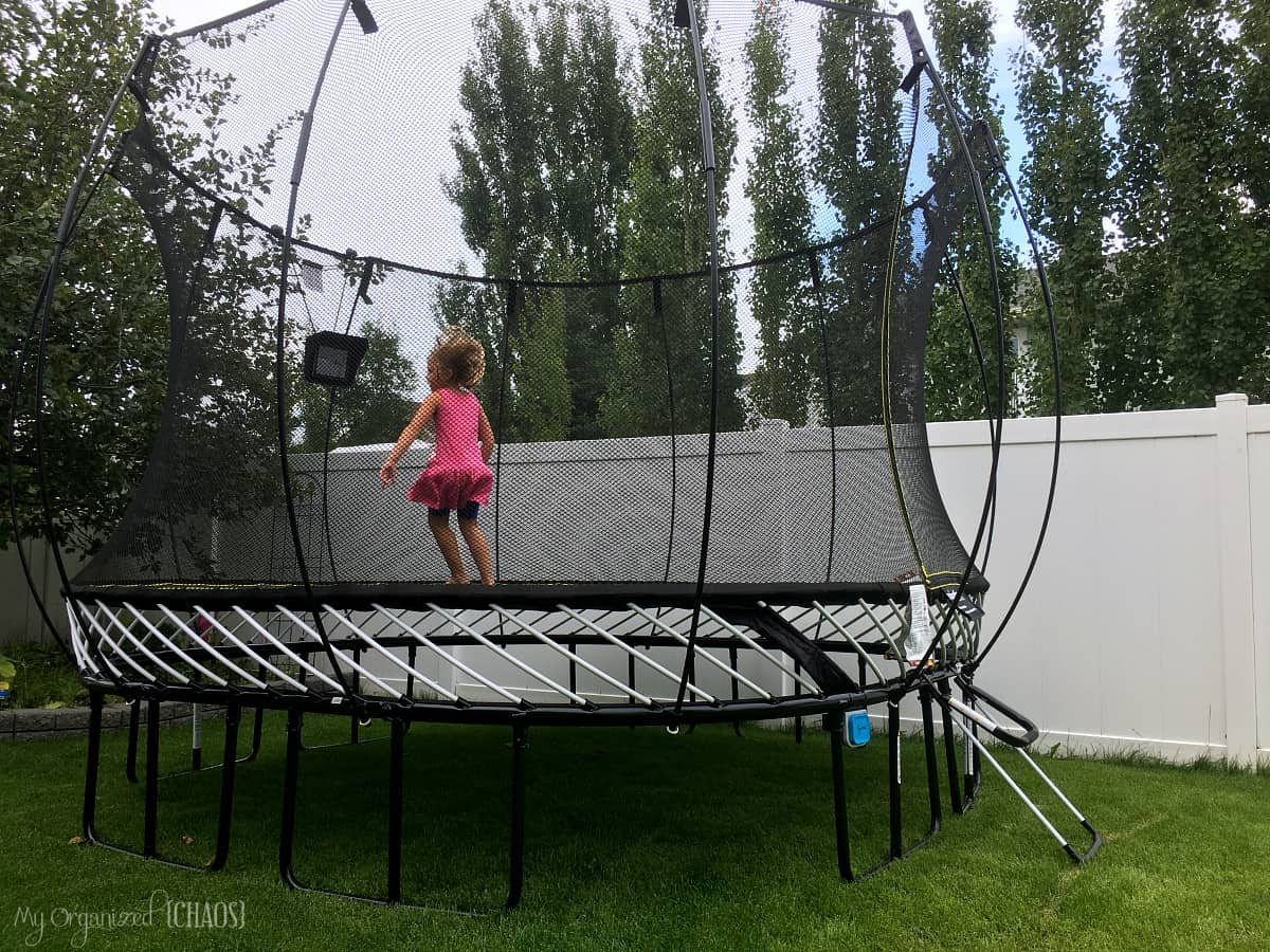 Take gaming outside with springfree trampoline tgoma for Springfree trampoline