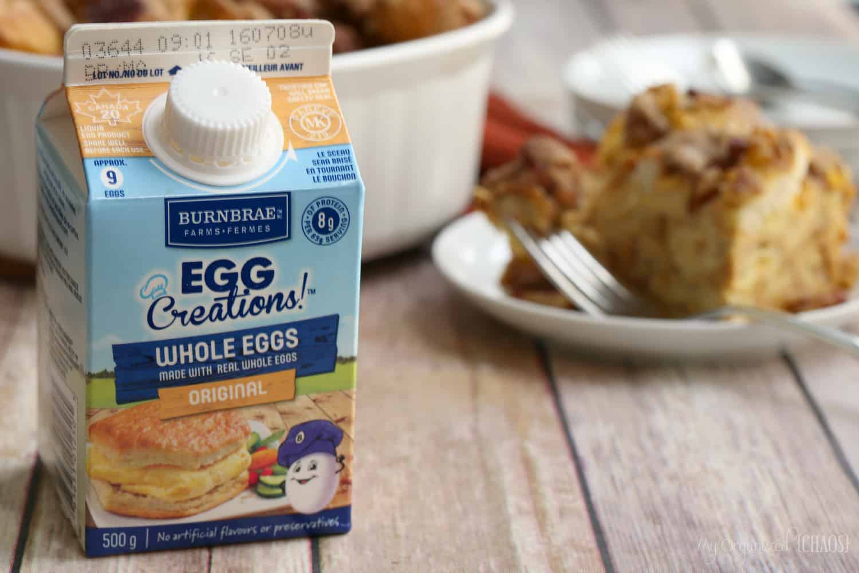 burnbrae farms egg creations eggforlife breakfast french toast recipe