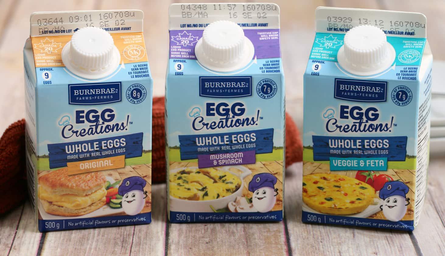 burnbrae farms egg creations whole eggs eggsforlife